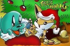 Feliz Navidad by ~SparkusThunderbolt on deviantART