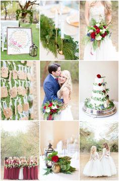 Beautiful Winter Wedding in Arizona | Amy & Jordan Photography | Bridal Musings Wedding Blog