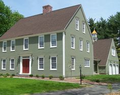 House Paint Colors As Cheerful Performance Traditional Exterior Design With Green Landscape Classic Colonial Homes
