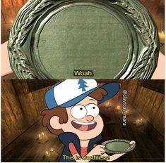 meme post Gravity Falls is one of the best cartoons (PC: -- -- Elder Scrolls Memes, Elder Scrolls Skyrim, Gamer Humor, Gaming Memes, Preston Garvey, Arrow To The Knee, Skyrim Funny, Wedding Party Games, Video Games Funny