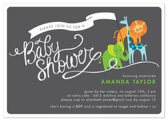 Love the banner & Baby Shower logo. :)