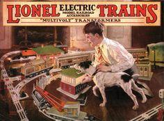 Lionel Trains catalog cover 1926