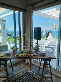 Villa, Dining Table, Curtains, Wedding, Furniture, Home Decor, Insulated Curtains, Casamento, Homemade Home Decor