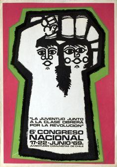 Juventudes comunistas – La juventud junto a la clase obrera por la revolución. Chile, 1969