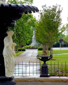 Demopolis, Alabama -- downtown square photographed by rob fleming