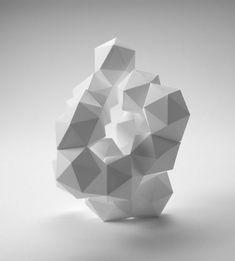 OTAKU GANGSTA  #geometric #sculpture  otakugangsta.com