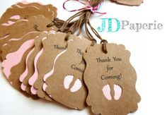 Thank You for Coming  Pick Your Color  Baby Shower by JDPaperie, $8.00