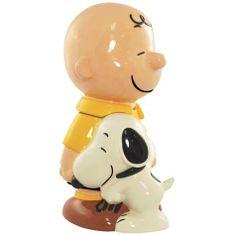 Peanuts Charlie Brown and Snoopy Cookie Jar @Alyson Stewart