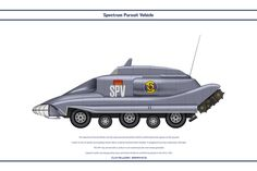 Spectrum Pursuit Vehicle by WS-Clave on deviantART | Gerry Anderson