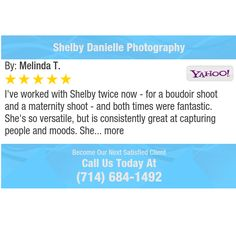 I've worked with Shelby twice now - for a boudoir shoot and a maternity shoot - and both...