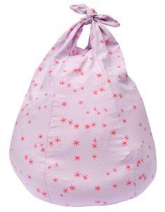 Handkerchief Bean Bag Stars Pink | BlaBla