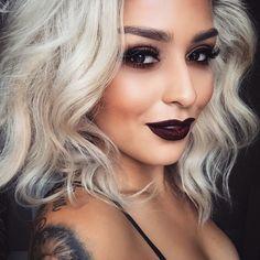 6six6 lipstick & unseen eyeshadow  #meltcosmetics  @meltcosmetics
