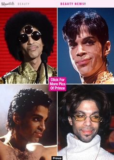Prince's Most Iconic Hairstyles - Take A Look Back In Photos