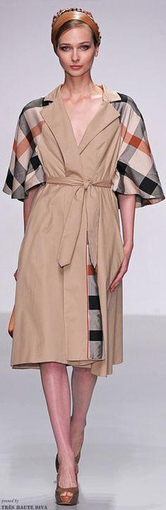 #London Fashion Show Daks Spring 2014 RTW http://www.style.com/fashionshows