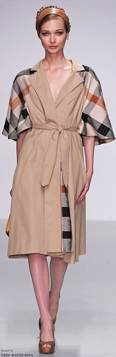 #London Fashion Show Daks Spring 2014 RTW http://www.style.com/fashionshows