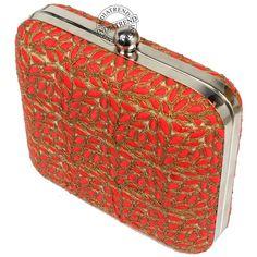 Kashira Box Clutch by indiatrendshop.com