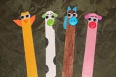 Popsicle Stick Animals