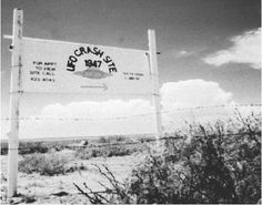 Site of the Roswell, New Mexico UFO crash. (ARCHIVE PHOTOS, INC.)