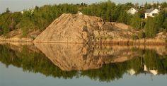 Ross Lake, Flin Flon, Manitoba  auntie Jean & uncle Jack's