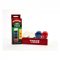 Plastic Coloured Casino Poker Chips - Perfect for a Casino party