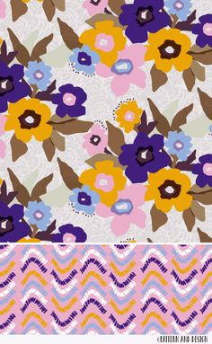Pattern and Design: Surface pattern / textile design