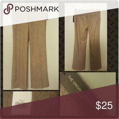 NWT Banana Republic Trouser Brand new off rack Straight leg dress pants  33 in inseam Original price  $110 Pants