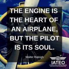 International Aviation Training and Education Organisation - IATEO Walter Raleigh, Aviation Quotes, Aviation Training, Airplane, Pilot, Engineering, Education, Organization, Plane