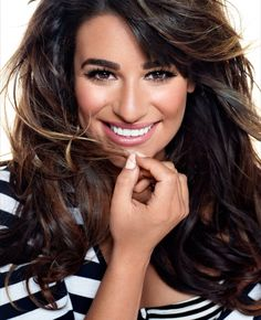 Lea Michele in Brunette Ambition