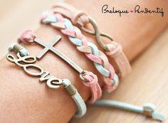 diy creation bijoux bracelet infinite love