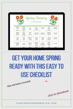 Does the thought of spring cleaning conjure up thoughts of hours spent scrubbing toilets, tubs and ovens or having to do a deep clean of everything? Find out how to eliminate the overwhelm with these easy to implement tips and a free spring cleaning checklist. Spring Cleaning Schedules, House Cleaning Tips, Deep Cleaning, Vent Out, Chemical Free Cleaning, Green Life, Toilets, Ovens, The Conjuring