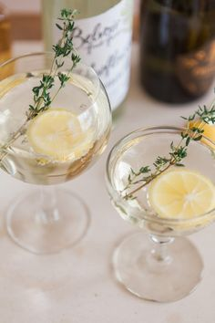 elderflower lemonade cocktail