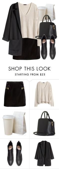"""""""Untitled #4551"""" by laurenmboot ❤ liked on Polyvore featuring moda, H&M i BEGA"""