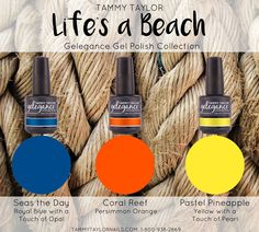 Life's a Beach Collection Gelegance Gel Polish