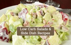 Low Carb Keto Diet Salads & Side Dish Recipes