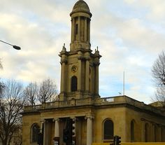 Holy Trinity Church, built in 1825 in a Grecian architectural style. In 1936 it became a store for Penguin Books, then in 1937 it became the location for the Society for Promoting Christian Knowledge, which remained there until It is now used for offices. Penguin Books, Places Of Interest, Offices, How To Become, Knowledge, Christian, London, Architecture, Store