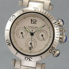 Cartier Watch Paris 925 Argent Plaque  Worth