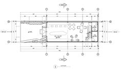 Image 1 of 29 from gallery of Brewman Coffee Concept / 85 Design. Photograph by To Huu Dung Cafe Floor Plan, Floor Plans, Coffee Gallery, Cafe Exterior, Small Coffee Shop, Retail Facade, Concrete Interiors, Koi Fish Pond, Cafe Restaurant