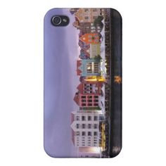 Curacao: Willemstad in purple Dusk Covers For iPhone 4 from Zazzle.com