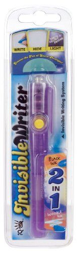 Iq Invisible Writer 2-In-1 Pen, 2015 Amazon Top Rated Reading & Writing #Toy