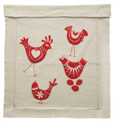 pure wool baby blanket applique kit by birdiebrown.com