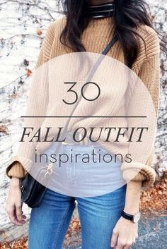 30 Fall Outfit Inspirations