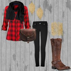 """Country Time"" by c-fannin on Polyvore"
