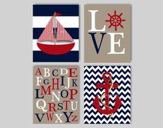 free nautical nursery printables - Google Search
