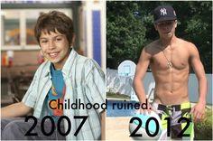 Austin jake shirtless t Jake T