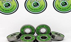 HIKS Products 8 x GREEN SLIME - ABEC 11 608 RS Water Resistant Rubber Seal Skateboard / Stunt Scooter / Inline Ska No description http://www.comparestoreprices.co.uk/december-2016-6/hiks-products-8-x-green-slime--abec-11-608-rs-water-resistant-rubber-seal-skateboard--stunt-scooter--inline-ska.asp
