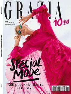 Grazia Magazine, Fashion Days, France, Magazine Covers, Style, Happy, Fashion Styles, Swag, Ser Feliz
