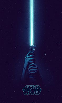 Blue Lightsaber iPhone 6 / 6 Plus wallpaper iPhone