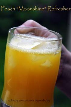 Peach Moonshine Refresher