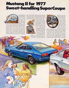 1977 Ford Mustang Ad-01a