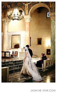 FAQ : Churches + Dark Ceremony Photos - Jasmine Star Photography Blog